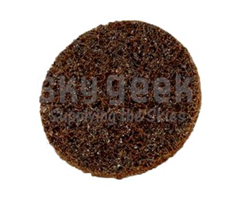 "3M 07458 Scotch Brite Hook & Loop Surface Conditioning Disc - 2"" - Coarse - Brown"