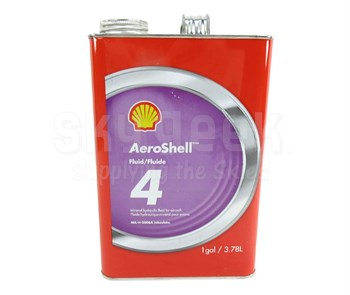 AeroShell Fluid 4 Mineral Hydraulic Oil - Gallon Can - MIL-PRF-5606H