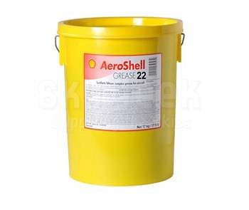 AeroShell Grease 22 Advanced General Purpose Aircraft Grease - 17 Kg (37.5 lb) Plastic Pail