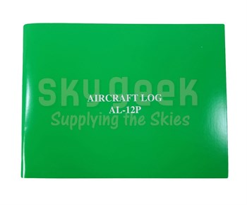 APR Industries AL-12P Green Softcover Aircraft Logbook