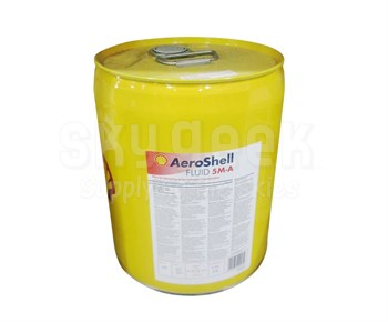 AeroShell Fluid 5M-A Pale Yellow Gear Box Oil - 5 Gallon Pail