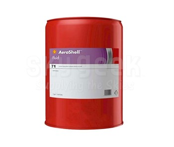 AeroShell Fluid 71 Preservative Mineral Hydraulic Fluid - 5 Gallon Steel Pail