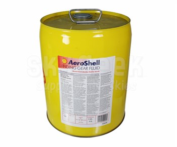 AeroShell LGF Yellow Mineral Hydraulic Landing Gear Fluid - 5 Gallon Pail