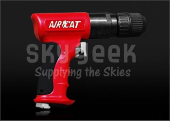 """AIRCAT® 4338 3/8"""" Red Composite Reversible Air Drill"""