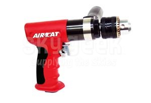 """AIRCAT® 4450 1/2"""" Red Composite Reversible Air Drill"""
