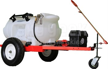 Aircraft Deicing P60PS Electrically Powered 60 Gallon Aircraft Deicing Cart - 12 Volt