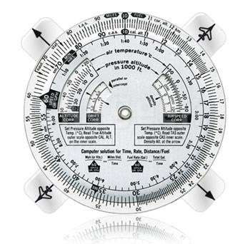 APR Industries PCA-302 Time/Speed/Distance Computer with Protractor Plotter - Aluminum