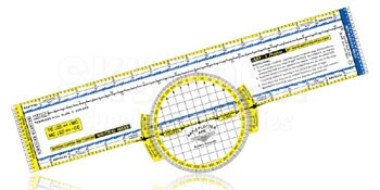 APR Industries RAP-2 Deluxe Color Coded Rotating Azimuth Navigation Plotter