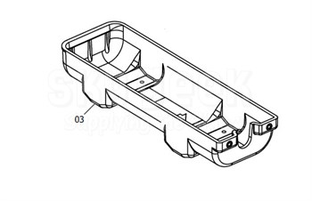 Artex 452-0227 Mounting Tray for G406 ELT