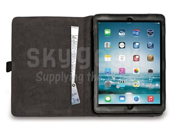 Aviation Supplies & Academics ASA-KB-IPAD-AIR Black Leatherette iPad Air Kneeboard