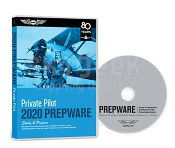 Aviation Supplies & Academics ASA-TW-PVT-18 2018 Private Pilot Prepware Software