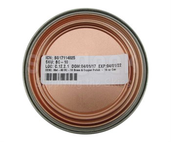 Met All BC-10 Brass & Copper Polish - 16 Oz. Can