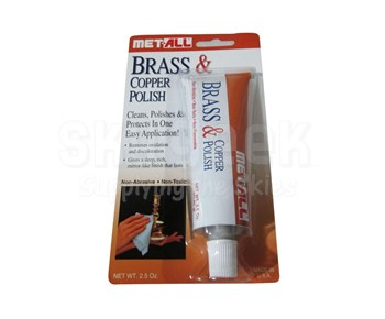 Met All BC-2 Brass Cleaner & Copper Polish - 2.5 Oz. Tube