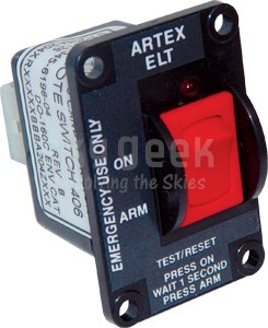 Artex 345-6196 ELT Remote Switch for ELT110-4
