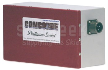 Concorde RG-126 24-Volt Emergency Aircraft Battery