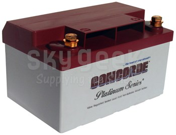 Concorde RG12-LSA 12-Volt Light Sport Aircraft Aircraft Battery