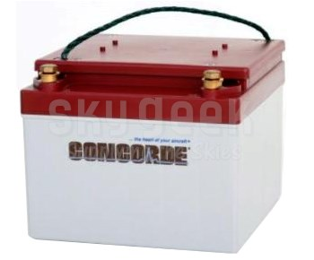 Concorde RG24-9 24-Volt General Aviation AGM Aircraft Battery