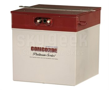 Concorde RG-380E/46 24-Volt Turbine Starting Aircraft Battery