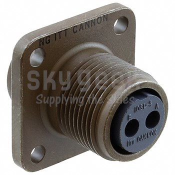 David Clark 00084M-03 Electrical Connector - 2 Pin - MS3102R14S-9P