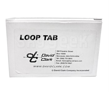 David Clark 41076G-01 Attachment Loop Tab