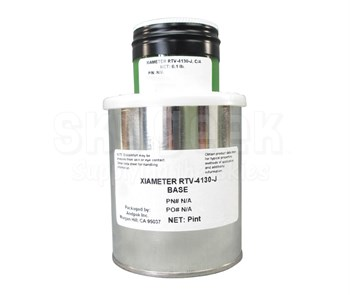 Dow Corning Xiameter 1447050 RTV-4130-J Silicone Rubber Base & Curing Agent - 1.1 lb Kit