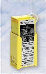 Emergency Beacon EBC 302 Automatic 121.5/243.0 MHz Emergency Locator Transmitter