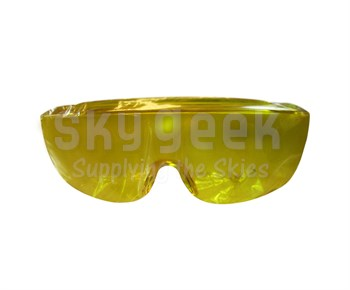 Foggles Yellow View Limiting (IFR) Instrument Training Glasses