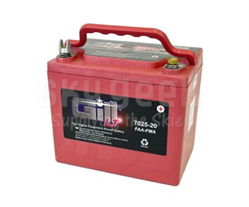 Gill 7025-20 Sealed Lead Acid Aircraft Battery