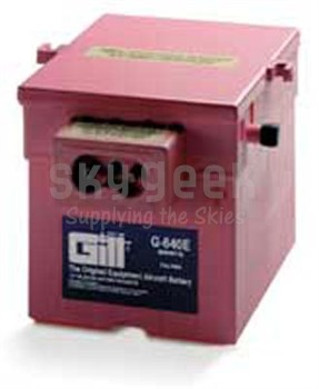 Gill G-640E Aircraft Battery