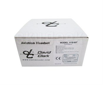 David Clark H10-60 Mono 5-Foot Straight Cord Aircraft Headset