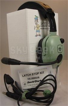 David Clark H20-10S Stereo Straight Cord Light-Weight Aircraft Headset (CLEARANCE)