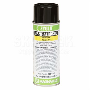 Magnaflux 01-3354-77 Zyglo® ZP-9F Developer - 16 oz Aerosol Can