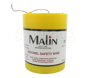 """Military Standard MS20995N41 Inconel 0.041"""" Diameter Safety Wire (1 lb Roll)"""