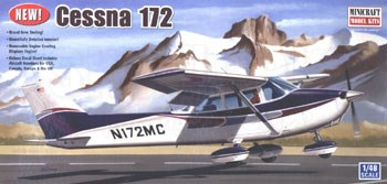Minicraft 11635 1/48 Cessna 172 SkyHawk Model Aircraft Kit