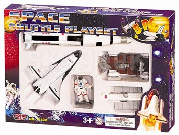 InAir IN-SP5 Space Shuttle Playset (5 Pieces)