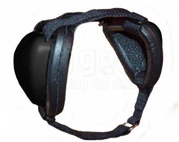 Mutt Muffs DDR337 Hearing Protection for Dogs - Black