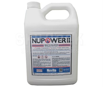 Nuvite Pc21901gl Nupower Ii Waterless Cleaning Aircraft Dry Wash Polish Paint Protectant