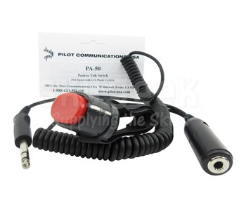 Pilot USA PA-50 Push-To-Talk Switch