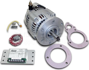 Generator To Alternator Conversion Pictures