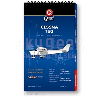Qref CE-152-1 Cessna 152 Quick Reference Book