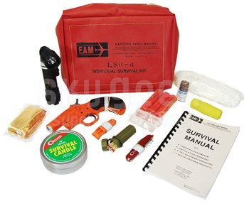 EAM Worldwide S3001-101 LSK4 Helicopter Survival Kit