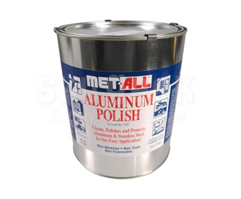 Met All TC-G Aluminum & Stainless Polish - 9.5 lb Can - MIL-P-6888C Type II