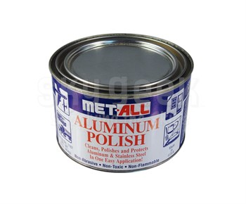 Met All TC-10 Aluminum & Stainless Polish - 16 oz Can - MIL-P-6888C Type II