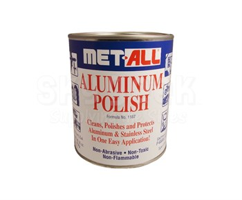 Met All TC-20 Aluminum Polish - 32 Oz. Can - MIL-P-6888C Type II