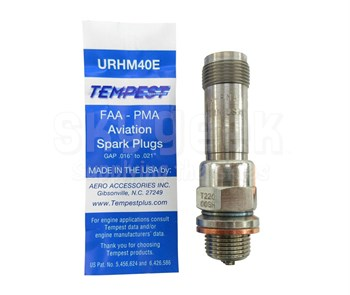 Tempest URHM40E Aviation Spark Plug