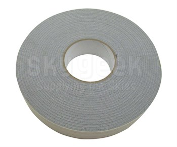"Viadon V5106 Gray 1/8"" Silicone Foam Tape with Acrylic Pressure Sensitive Adhesive - 1.5"" x 10' Roll (CLEARANCE)"