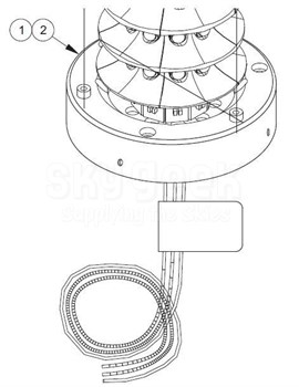 Whelen 7091803 Led Module on aviation headset wiring diagram