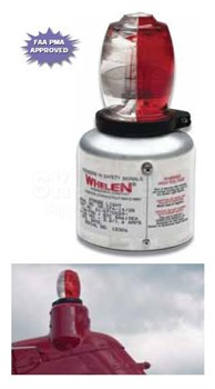 Whelen 01-0770029-31 Standard Assembly - Split Red/White Lens
