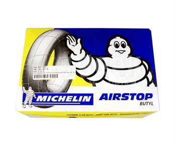 Michelin® 092-337-0 Airstop® Black 6.50-8 & 7.00-8 TR-15 Straight Valve Aircraft Inner Tube
