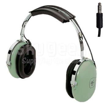 "David Clark 12509G-01 Model H7050 Over-the-Head 36"" Straight Cord Listen Only Two-Way Radio Headset"